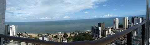 Apartamento na praia de Candeias