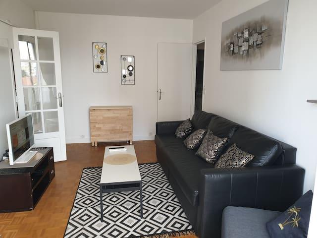 Appartement Cosy - Proche Paris/Stade de France
