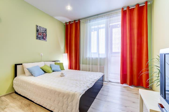 Солнечная квартира возле Метро! - Murino - Διαμέρισμα