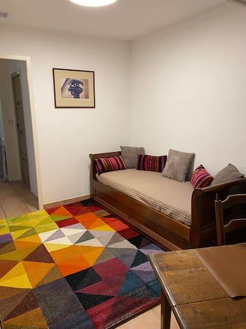 Bureau 15 m2 ou chambre, lits gigognes 80x190