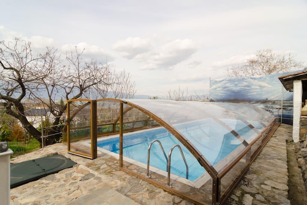 Cottage Lake View Swimming Pool Houses For Rent In Lithotopos Makedonia Thraki Greece