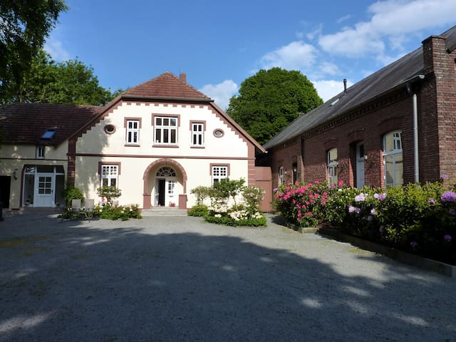 romantic property in a secluded location,