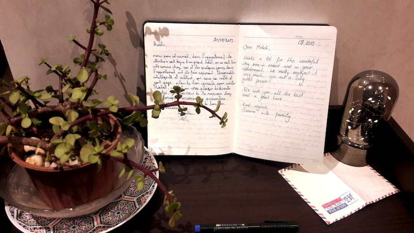 The guestbook : some beautiful memories with my guests