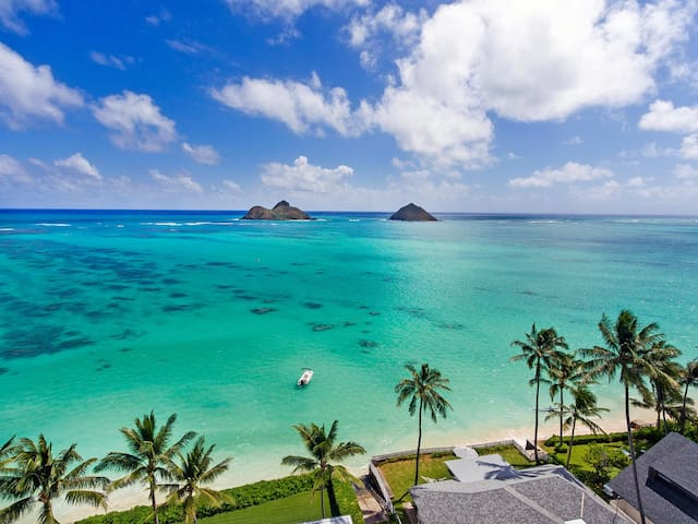Licensed Lanikai rental 300' to Lanikai Beach!