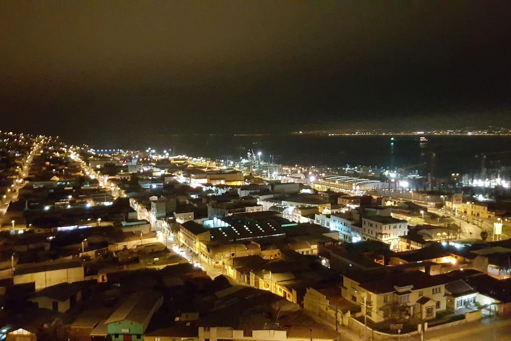 Sector del puerto de Coquimbo.