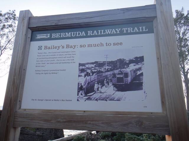 Bailey's Bay Rail Way Trail