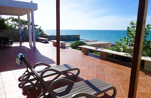 Casa Que Pasa - Bella casa, proprio sulla spiaggia