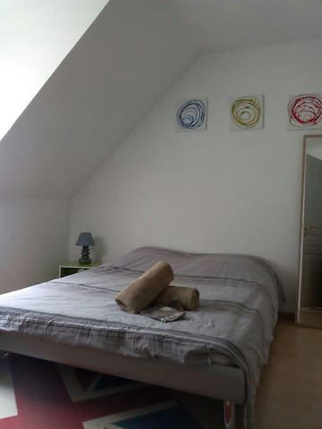 Room at Colmar's doors - Herrlisheim-prés-Colmar - Σπίτι