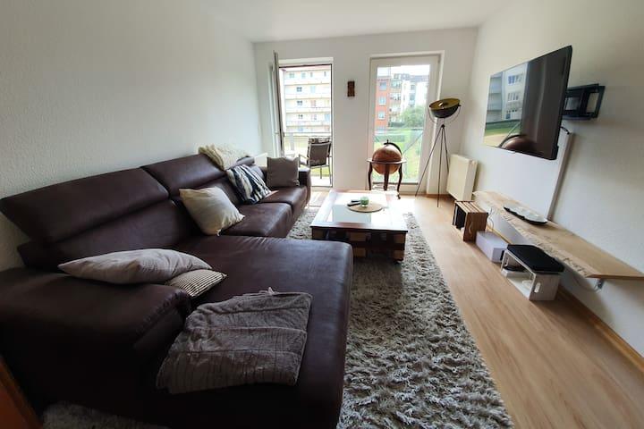 Moderne 2-Z.-Wohnung wassernah mit TG-Stellplatz