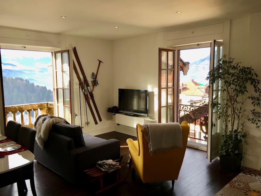 Elegant spacious retreat on the foot of mont blanc flats - Office tourisme saint gervais les bains ...