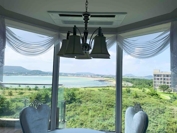 🏖48평 Sea view Room 섭지코지해변q아쿠아플라넷 bl