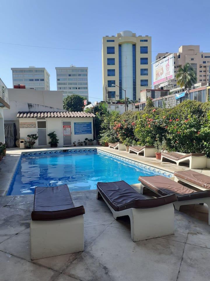 Dept en zona turistica Acapulco Dpto103 plantabaja