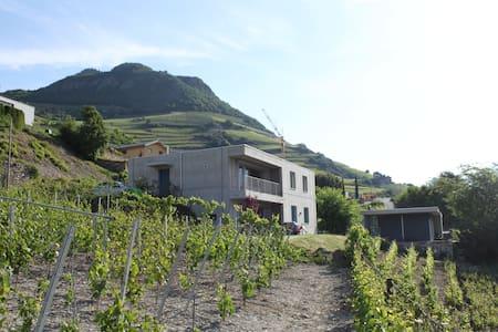 Appartement avec vue dans maison d'architecte.