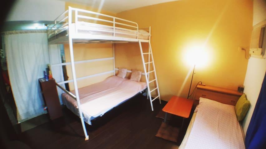 Private Double room, Quad /Taipei