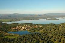 En plena DEHESA. Sierra de Gata. Cáceres Norte.