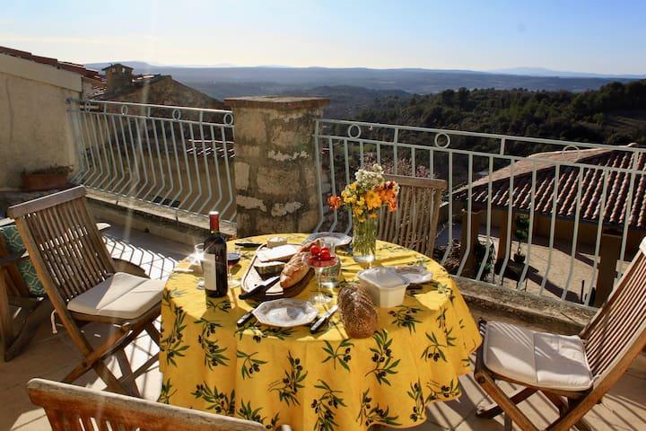 Vues panoramiques - Maison Baudinard