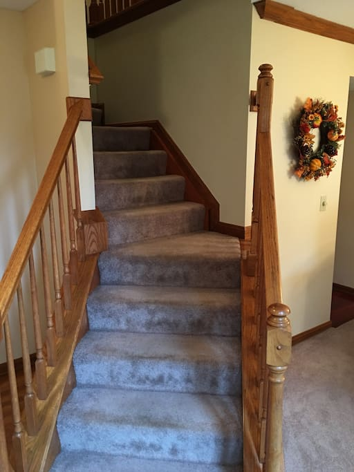 Front Entry Way Staircase