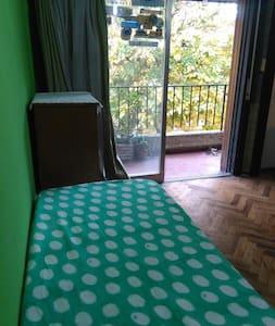 Dormitorio individual, casa en Martínez