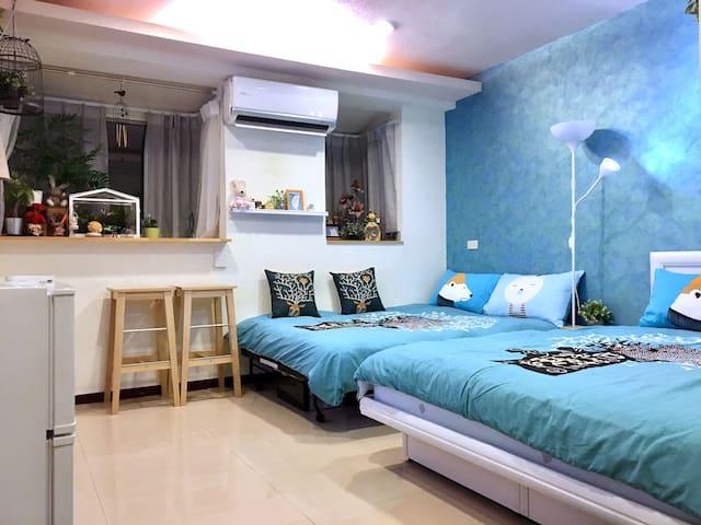•月租優惠•台北西門町MY HOME(2~4人)《滾筒洗衣烘乾機》Ximen MRT