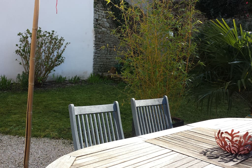 Un jardin en ville apartments for rent in quimper for B b un jardin en ville brussels