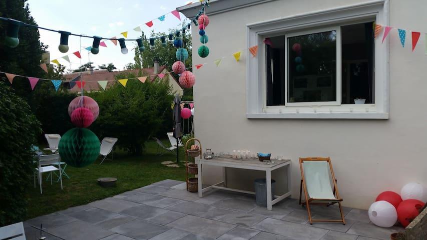 Maison de ville calme avec jardin - Évreux - Ház