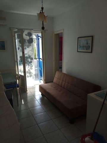 Χαριτωμένο διαμέρισμα στην Αλυκή της Πάρου