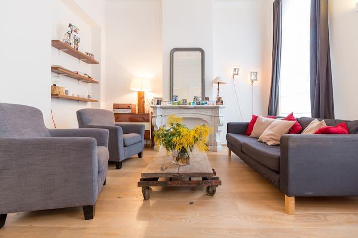 Trendy apartment - Flagey - Terrace - Ixelles - Wohnung