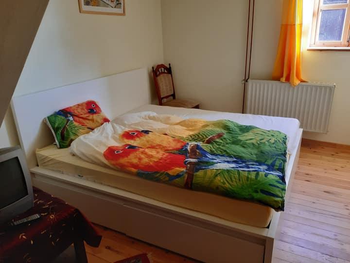 Einzimmerwohnung auf dem Resthof