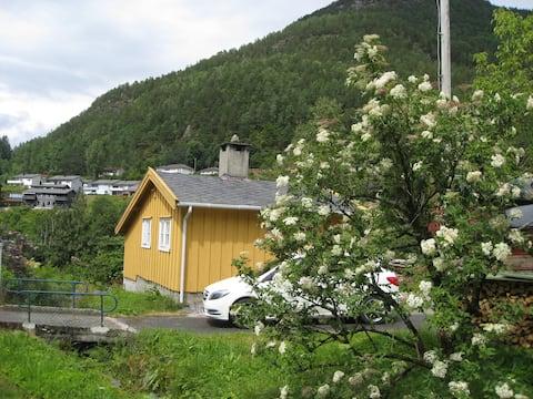 Cosy cabin on small farm