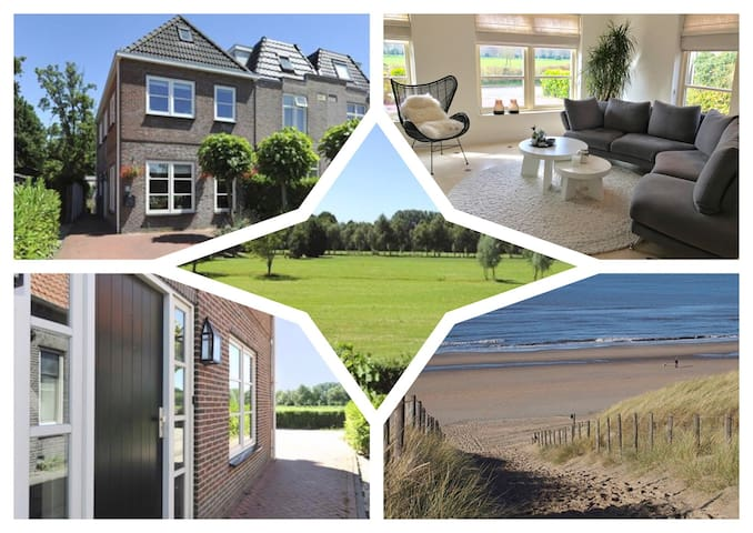 Comfortable sunny house near beach - Wassenaar - Maison