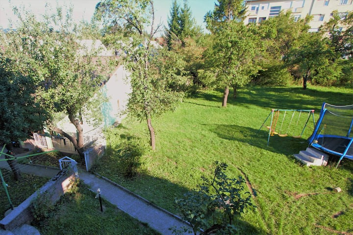 House in center of Gospic with big garden