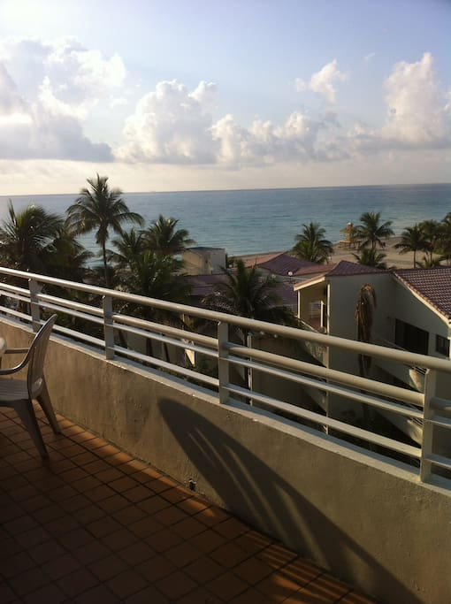 PANORAMIC VIEW FROM 40 FT LONG BALCONY.