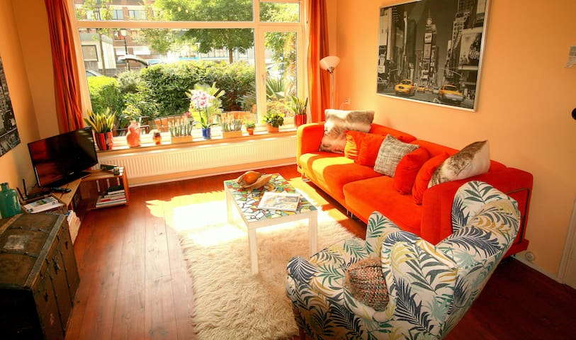Apartment with garden near city center and WTC