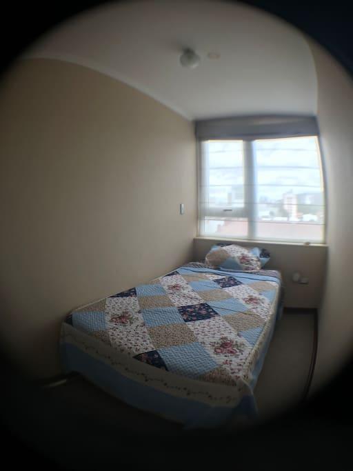 Habitación incluye closet