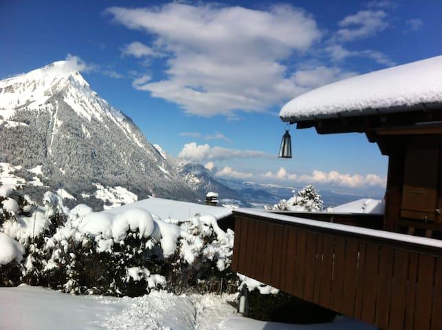 Chalet Tannegg mitten im Ski- und Wandergebiet - Reichenbach im Kandertal - Apartment