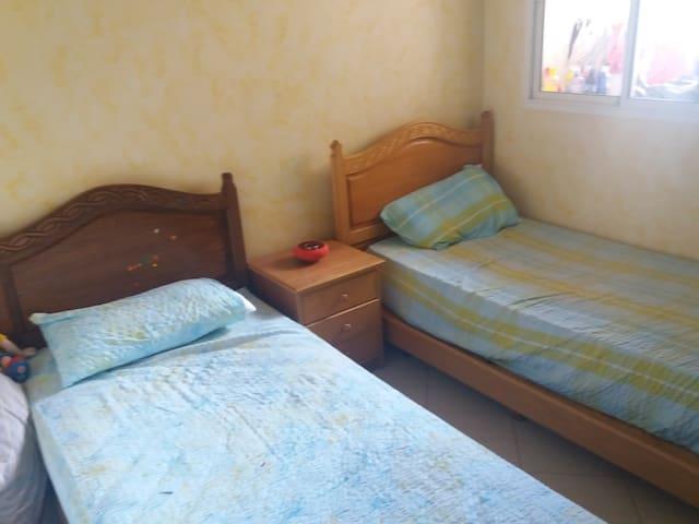 Appartement de luxe et famille accueillante