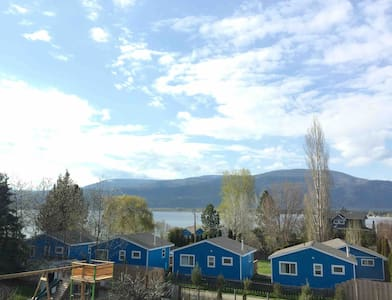 Private Lakeview Suite steps from Shuswap Lake