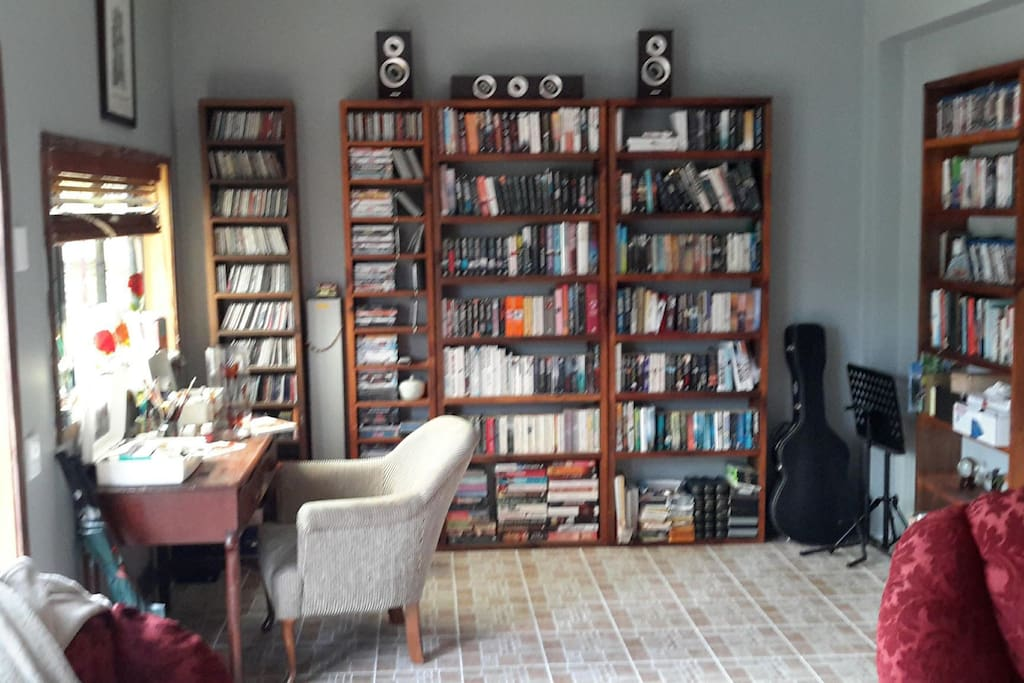 Sitting area/Library