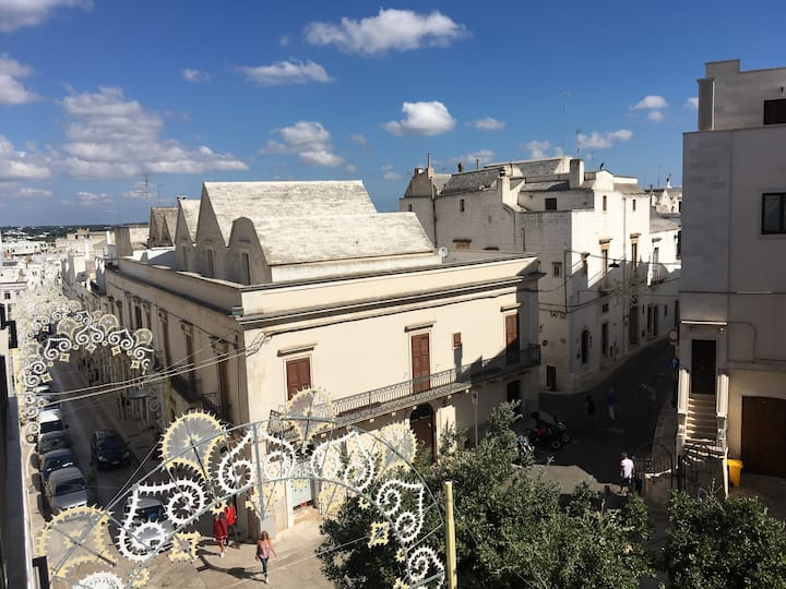 in the heart of the historic center & panorama