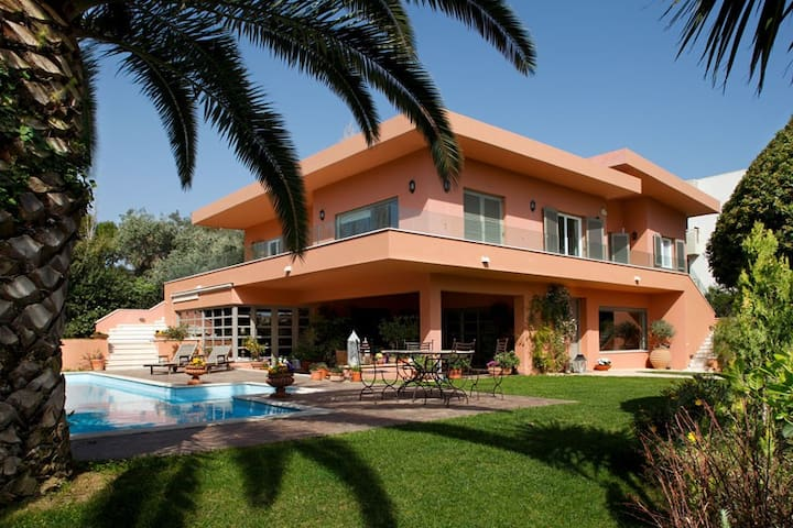 Aliki villa 330m with private pool