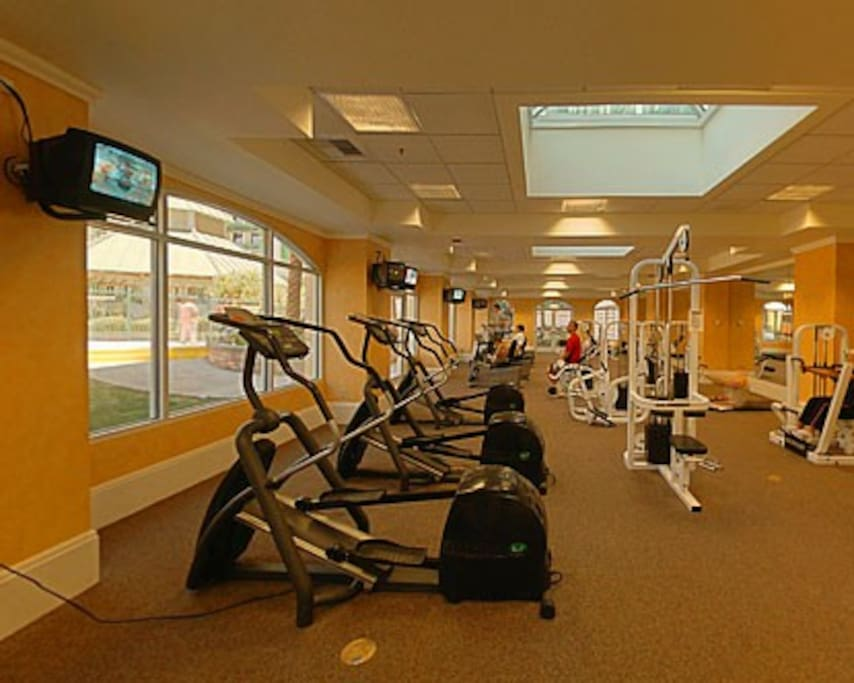 Private room with security fitness center