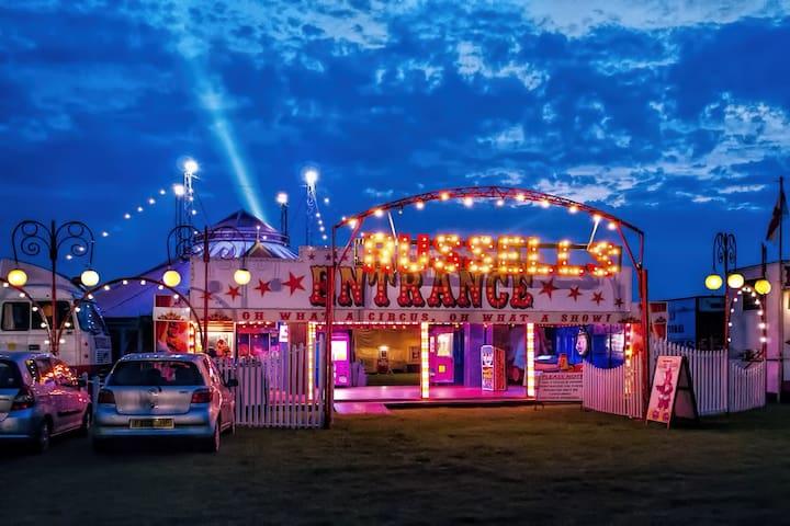 Circus holiday  home