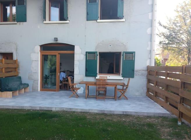 T3 en duplex avec terrasse