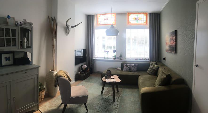 Beautiful design apartment with garden
