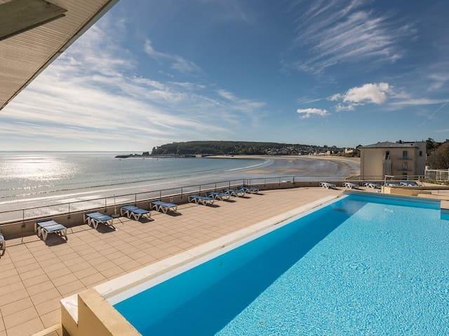 Appartement Front De Mer avec accès direct plage