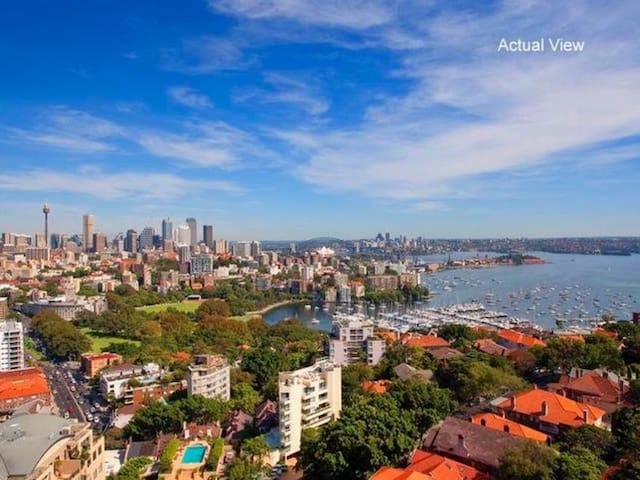 One Bedroom Apartment with Amazing City VIEWS - Darling Point - Apartment