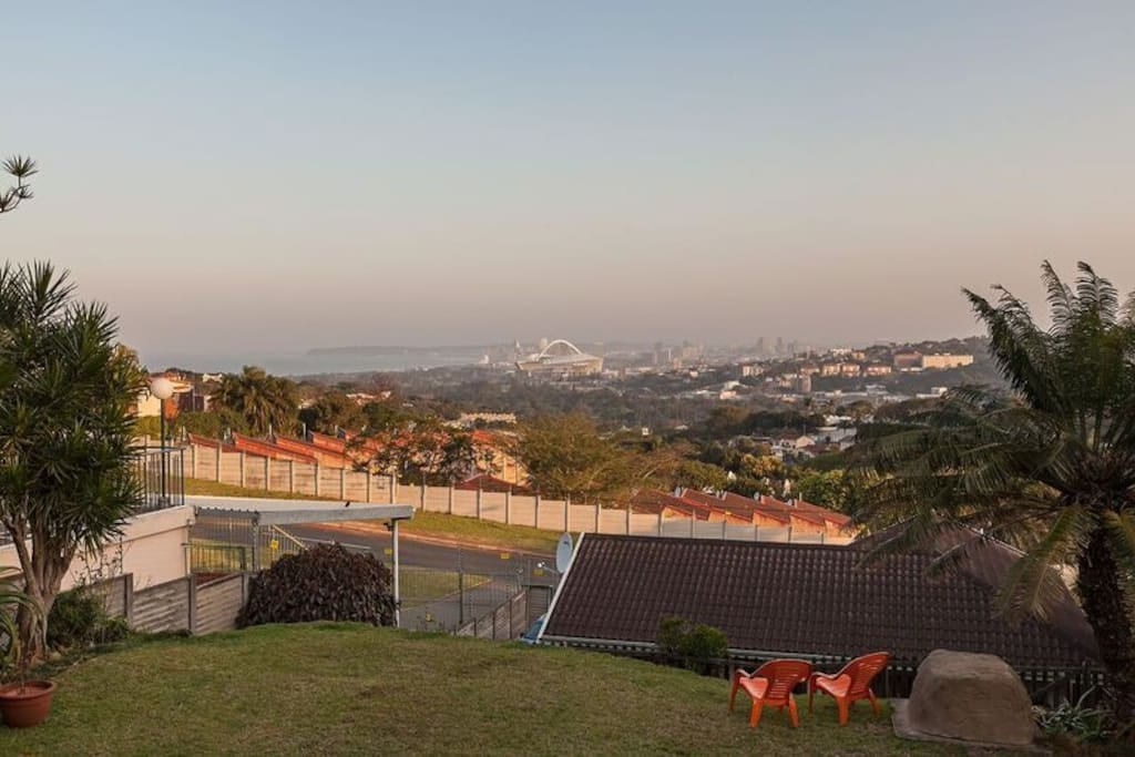 Sea and City views
