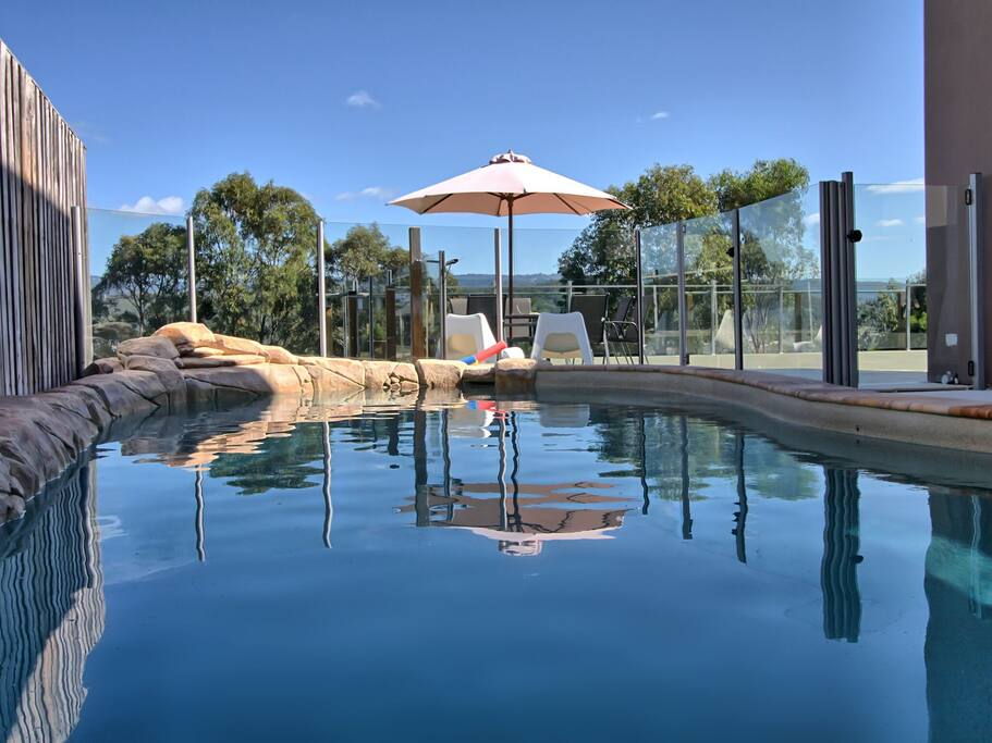 Solar Heated Pool - Not Usable During Winter
