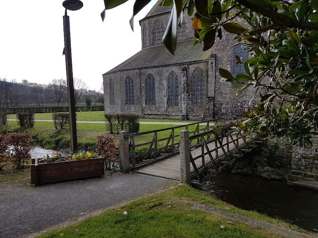 Historique Abbaye , a few steps from the house