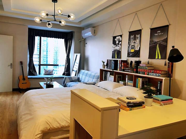 """""""大梦""""个性化日式榻榻米公寓式民宿,陪你大梦一场。"""